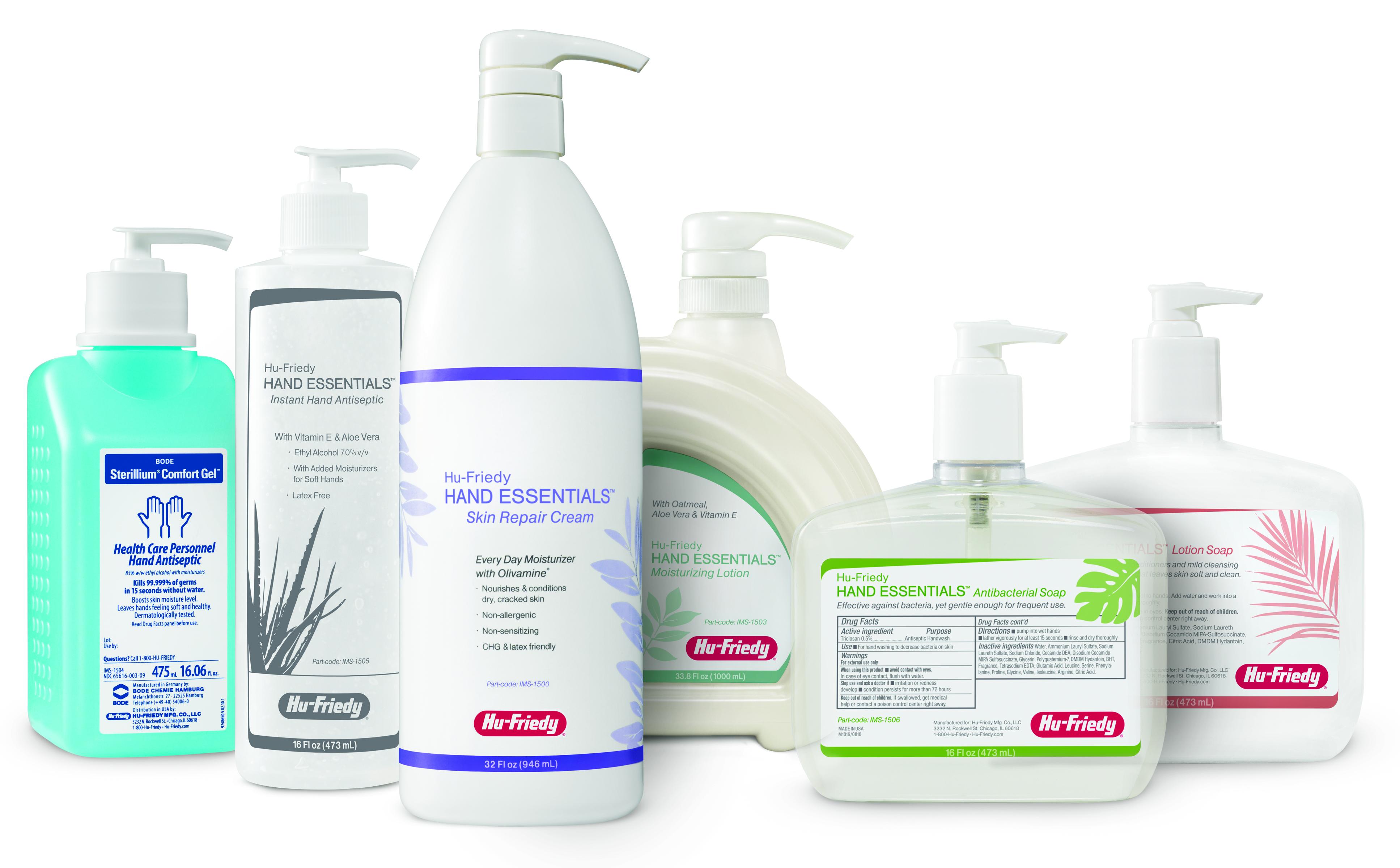 Hand Essentials Personal Hygiene Line